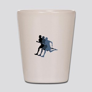 MALE RUNNER Shot Glass