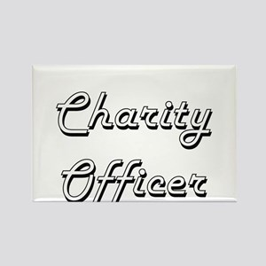 Charity Officer Classic Job Design Magnets