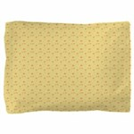 Yellow Cheese Look Pillow Sham