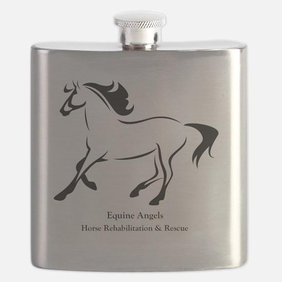 equine angels logo 1 Flask