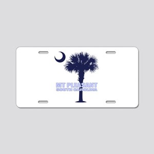 Mt Pleasant SC Aluminum License Plate
