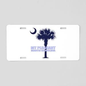 Mt Pleasant SC Aluminum License Plate