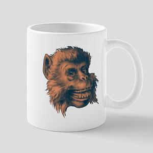 MONKEY HEAD coffee cup