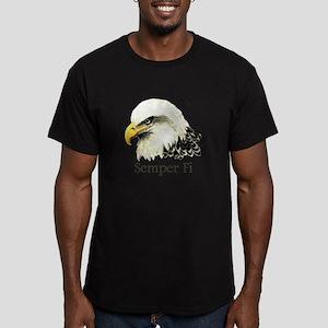 "Eagle Semper Fi ""USMCFP"" Quote T-Shirt"