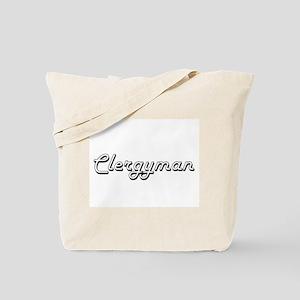 Clergyman Classic Job Design Tote Bag