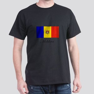 Moldova - Flag Dark T-Shirt