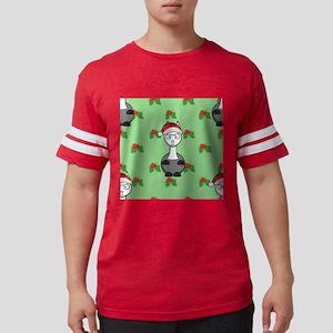christmas santa alpaca T-Shirt