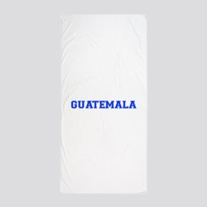Guatemala-Var blue 400 Beach Towel