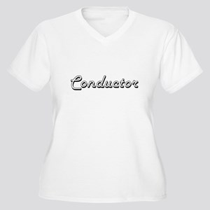 Conductor Classic Job Design Plus Size T-Shirt