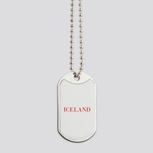 Iceland-Bau red 400 Dog Tags