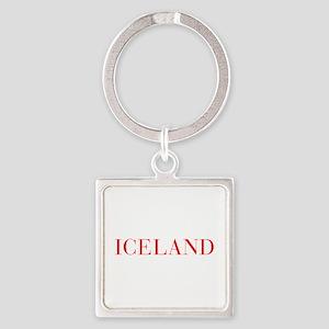 Iceland-Bau red 400 Keychains