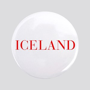 "Iceland-Bau red 400 3.5"" Button"