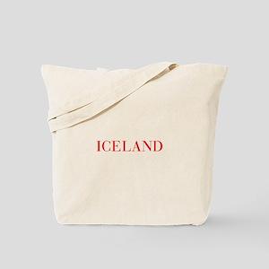 Iceland-Bau red 400 Tote Bag