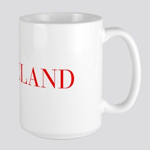Iceland-Bau red 400 Mugs