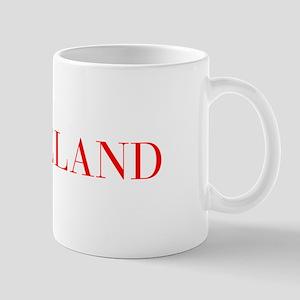 Iceland-Bau red 400 Mugs