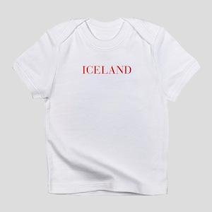 Iceland-Bau red 400 Infant T-Shirt