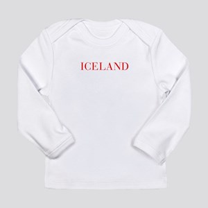 Iceland-Bau red 400 Long Sleeve T-Shirt