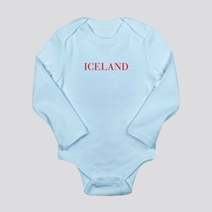 Iceland-Bau red 400 Body Suit