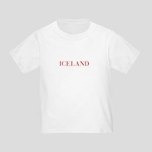 Iceland-Bau red 400 T-Shirt