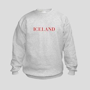 Iceland-Bau red 400 Sweatshirt