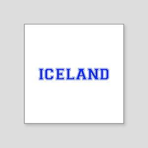 Iceland-Var blue 400 Sticker