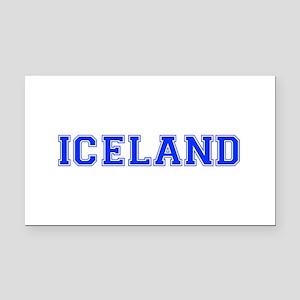 Iceland-Var blue 400 Rectangle Car Magnet