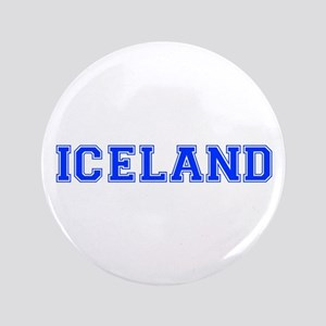 "Iceland-Var blue 400 3.5"" Button"