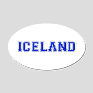 Iceland-Var blue 400 Wall Decal