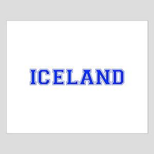 Iceland-Var blue 400 Posters