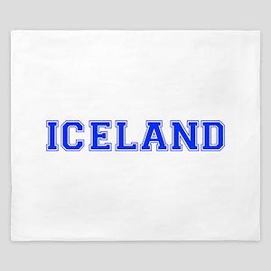 Iceland-Var blue 400 King Duvet