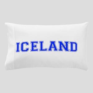 Iceland-Var blue 400 Pillow Case