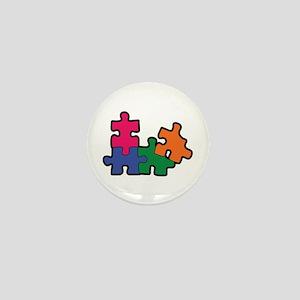 PUZZLE PIECES Mini Button