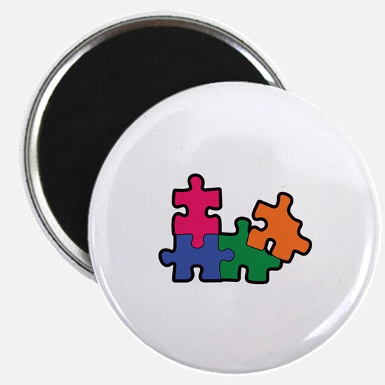 PUZZLE PIECES Magnets