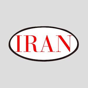Iran-Bau red 400 Patch