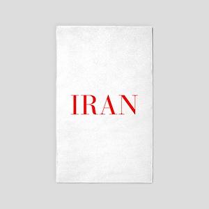 Iran-Bau red 400 Area Rug