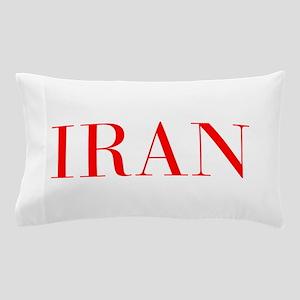 Iran-Bau red 400 Pillow Case