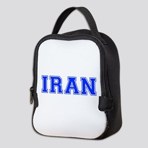Iran-Var blue 400 Neoprene Lunch Bag