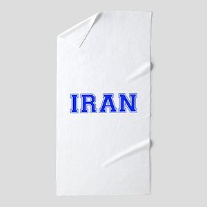 Iran-Var blue 400 Beach Towel