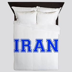 Iran-Var blue 400 Queen Duvet