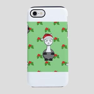 christmas santa alpaca iPhone 7 Tough Case