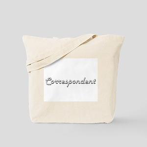 Correspondent Classic Job Design Tote Bag