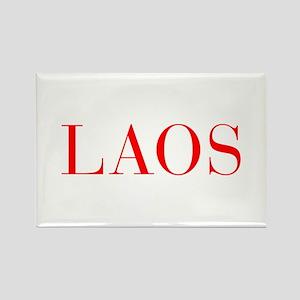 Laos-Bau red 400 Magnets