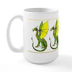 Fine Dragon in Colour Large Mug