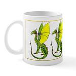 Fine Dragon in Colour Mug