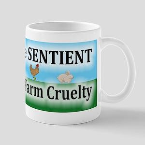 End Factory Farm Cruelty - Mugs