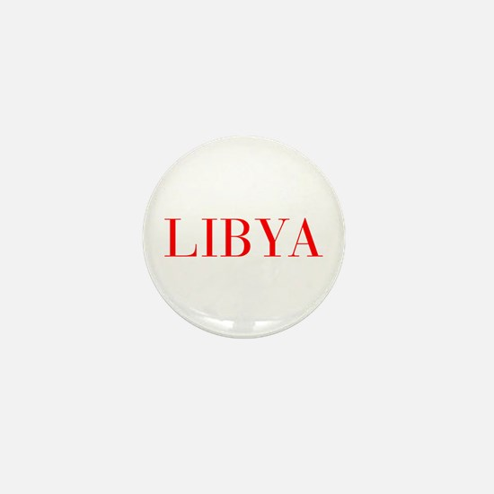 Libya-Bau red 400 Mini Button