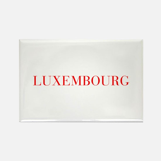 Luxembourg-Bau red 400 Magnets