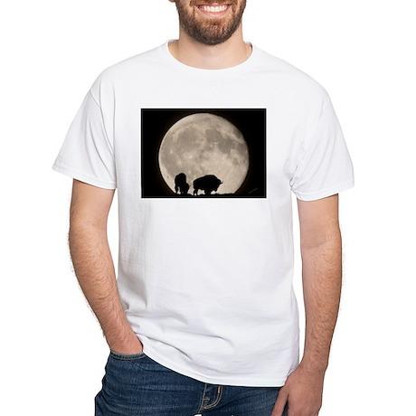 Moonwatch Bison White T-Shirt