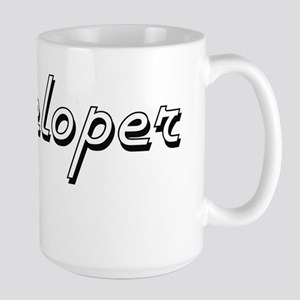 Developer Classic Job Design Mugs
