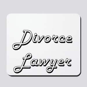 Divorce Lawyer Classic Job Design Mousepad